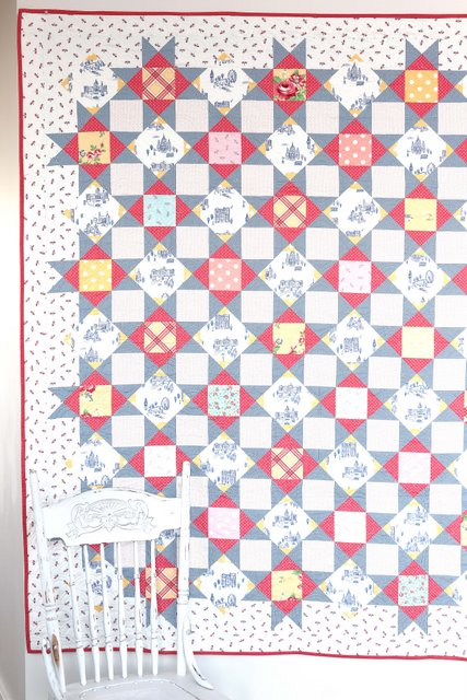 Palace Court quilt pattern by Amy Smart - featuring the Notting Hill Fabric Collection from Riley Blake Designs