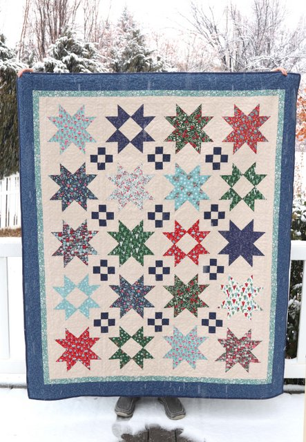 Star quilt pattern by Amy Smart of Diary of a Quilter