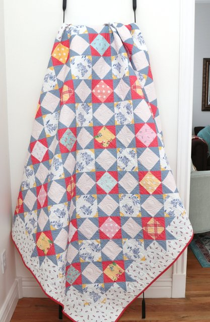 Palace Court Quilt pattern by Amy Smart - featuring Notting Hill Fabric