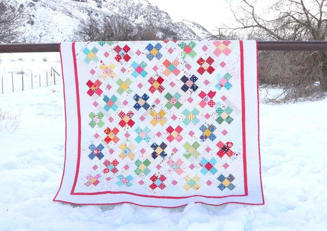Scrap quilt Ideas - Precuts-friendly quilt by Amy Smart