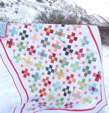 County Fair Scrap Quilt Pattern by Amy Smart