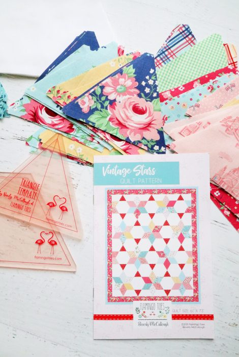 Vintage Stars Quilt Along hosted by Bev of Flamingo Toes