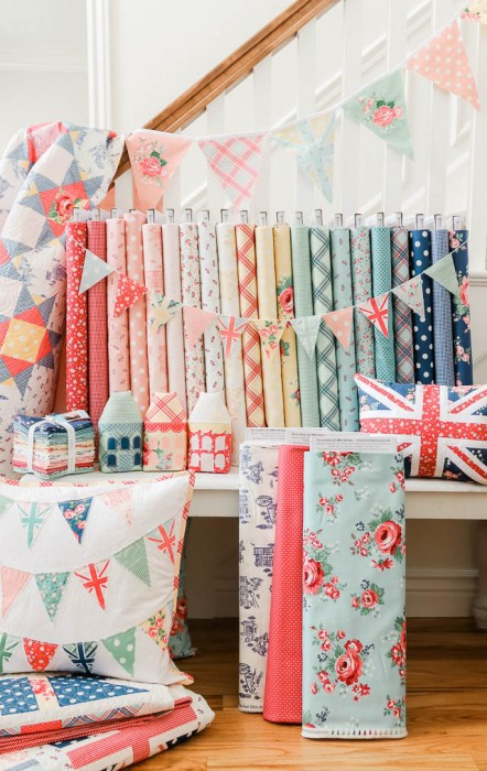 Shabby Chic springtime Notting Hill fabric collection by Amy Smart for Riley Blake Designs