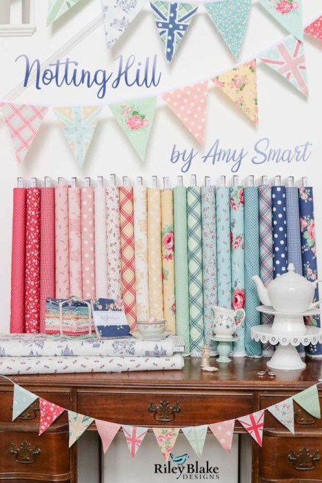 Notting Hill fabric collection by Amy Smart - for Riley Blake Designs