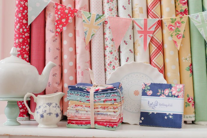 Fat Quarter Bundle of Notting Hill collection by Amy Smart for Riley Blake Designs
