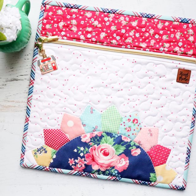 Free Project Bag Tutorial by Beverly McCullough featuring Notting Hill Fabric