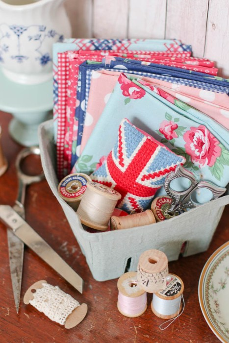 Notting Hill collection by Amy Smart + vintage Haberdashery