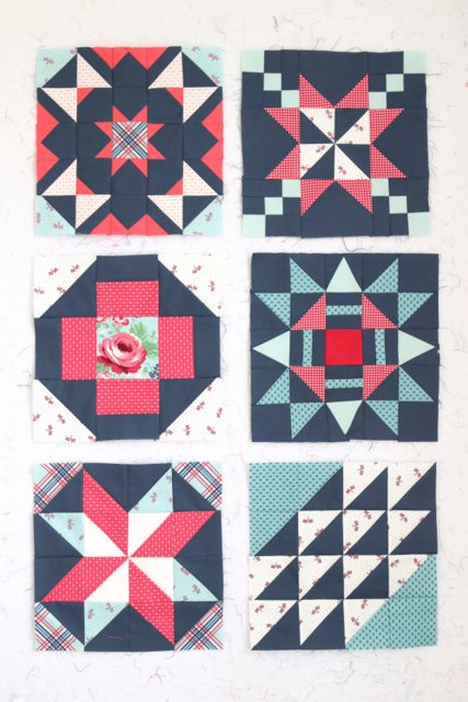 Riley Blake Quilt Block Challenge - free quilt block patterns
