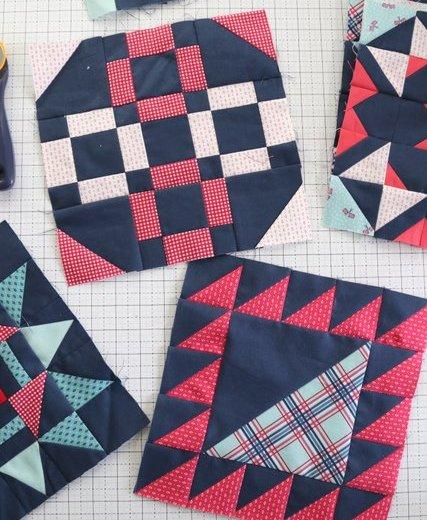 Riley Blake Quilt Block patterns