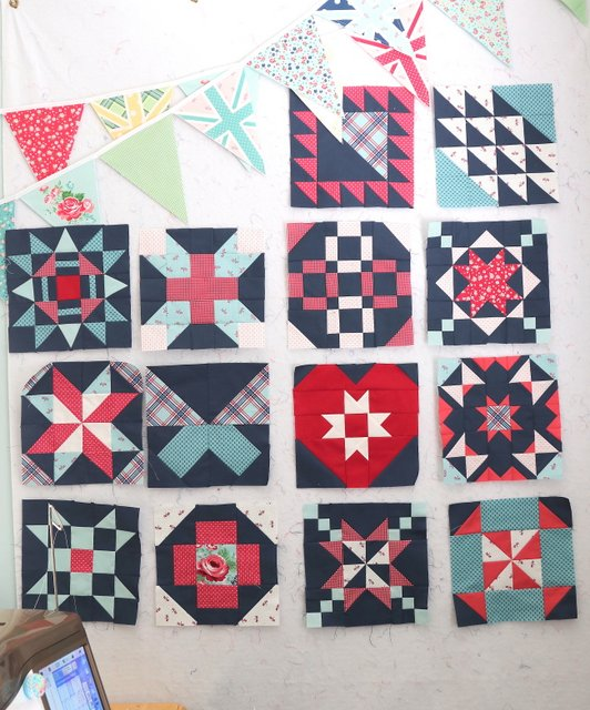 Free Quilt Block patterns from Riley Blake designers