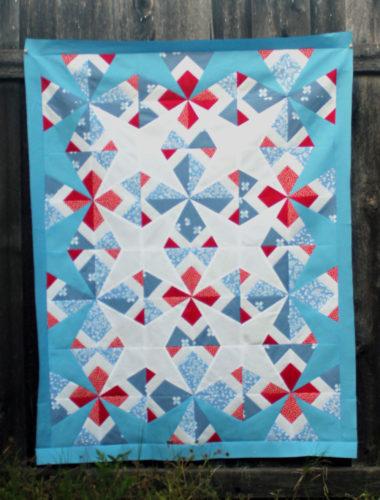 Sparkler quilt pattern by Carolina Moore
