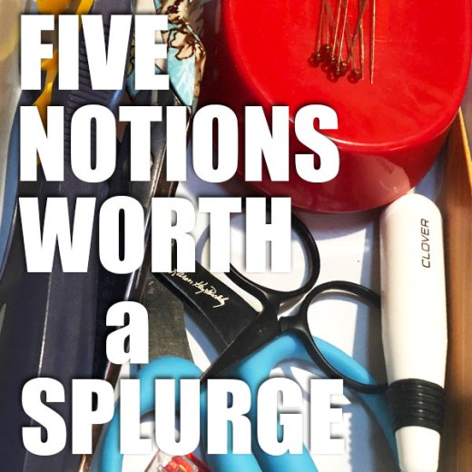 Five Must Have Sewing Notions