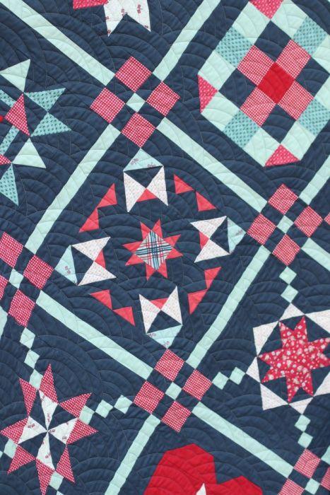 Riley Blake Designs Sampler Quilt blocks