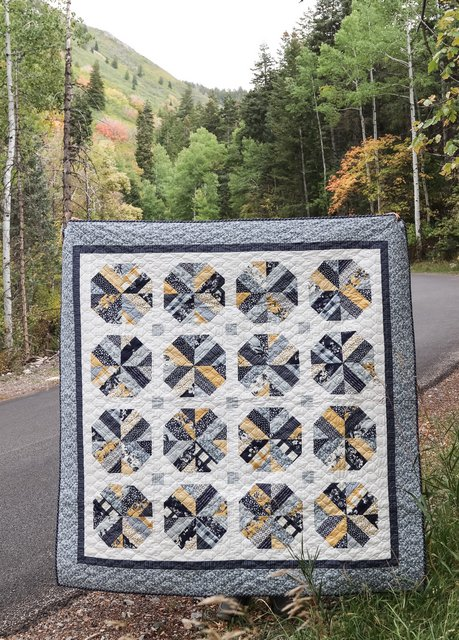 Jelly Roll Quilt Pattern - Bushel and a Peck by Amy Smart of Diary of a Quilter