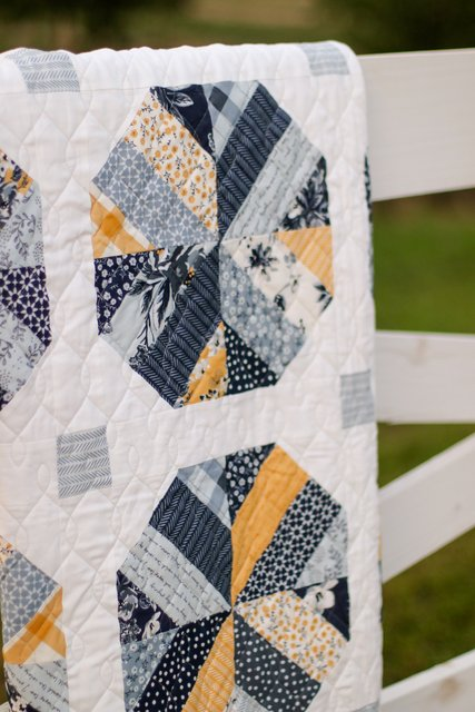 Machine quilting by Sew Shabby Quilting