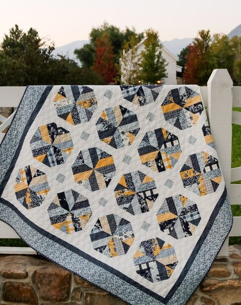 Jelly Roll Quilt Pattern - Bushel and a Peck by Amy Smart