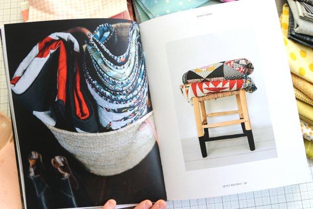 Jen Kingwell Quilt Recipes pattern book