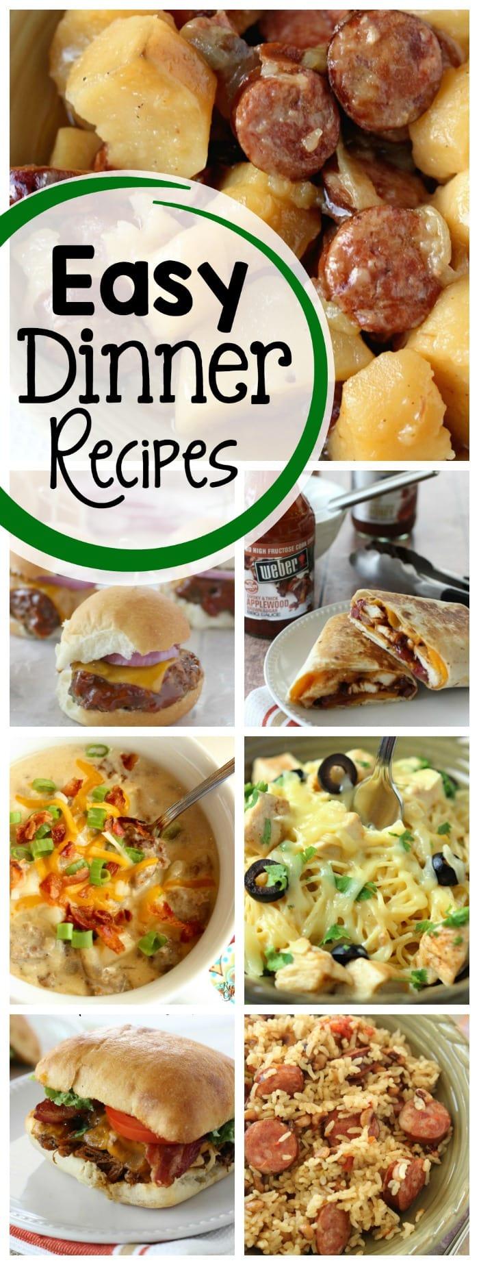 Easy Dinner Recipes Four