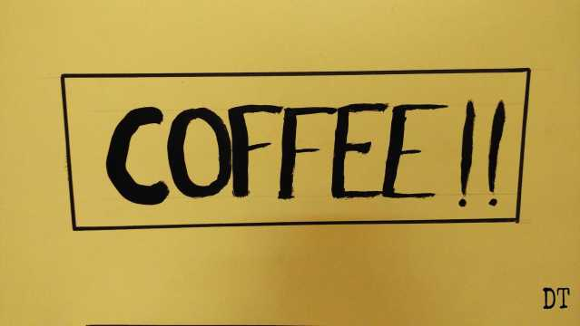 I am a coffee person
