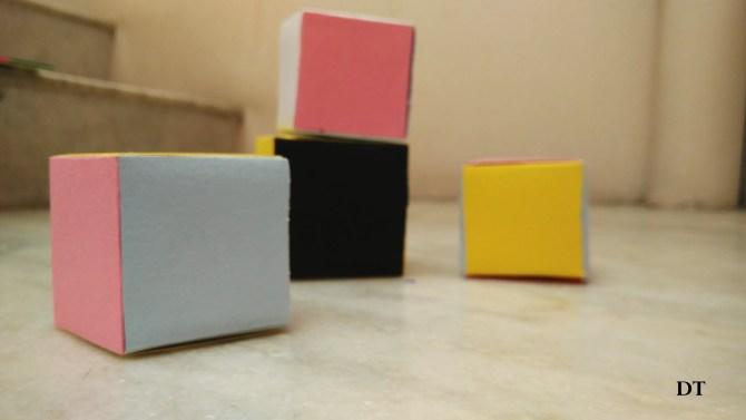 Origami cube