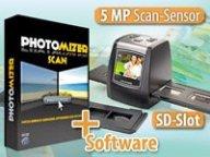 Somikon Dia- und Negativscanner mit TFT und SD-Slot mit Software