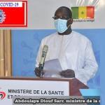 Baisse de la Covid-19: l'appel du ministres Abdoulaye Diouf Sarr aux Sénégalais