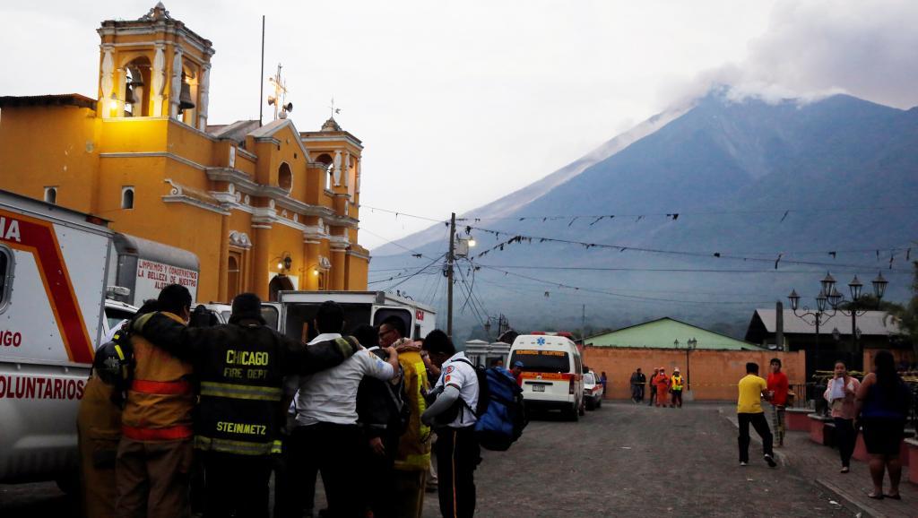 Guatemala: une éruption volcanique fait au moins 25 morts