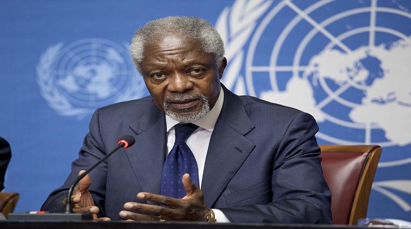 Kofi Annan, «le meilleur secrétaire général de l'histoire des Nations unies»