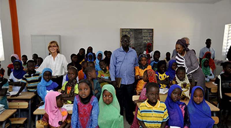 Le maintien des filles à l'école au menu de la Journée internationale des filles.