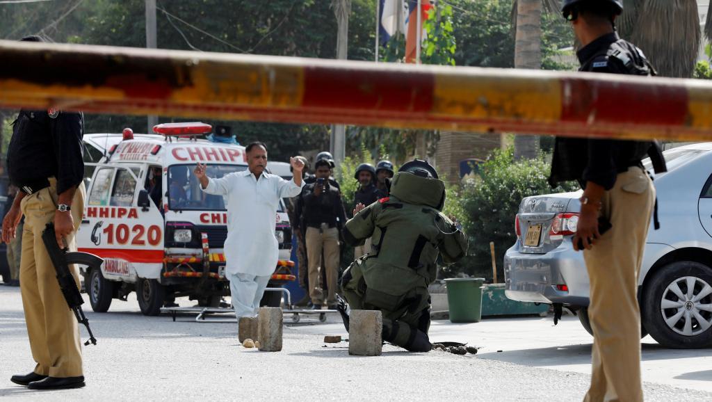 Pakistan: le consulat de Chine de Karachi attaqué par des hommes armés