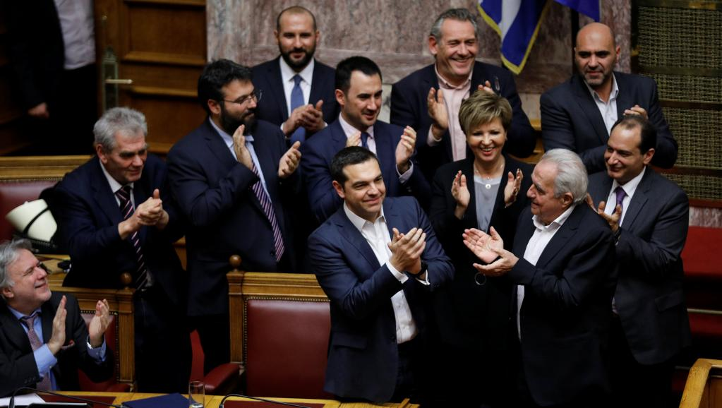 Grèce: Alexis Tsípras conforté par un vote de confiance