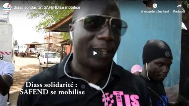 DIASS solidarité : SAFEND se mobilise