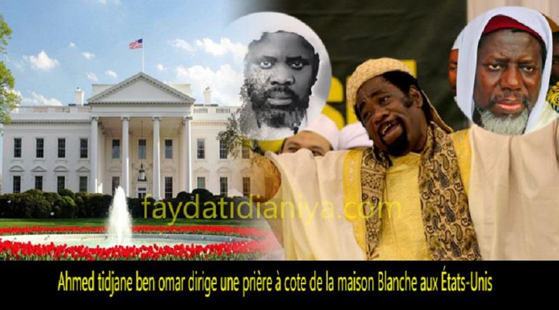 (Vidéo) Allahou Akbar ! Ben Omar dirige une prière à côté de la maison Blanche aux États-Unis