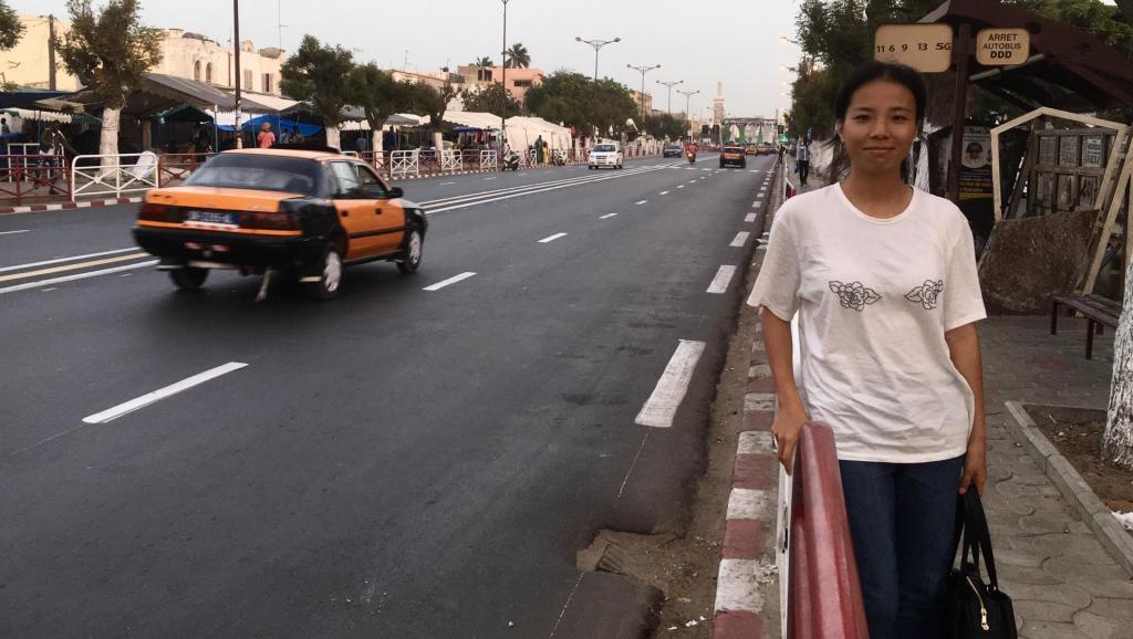 Adoptée par le Sénégal, la Chinoise Liu Chen est connectée au monde
