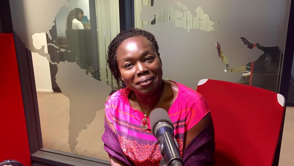 Littérature: Fatou Diome, auteure du roman «Les veilleurs de Sangomar»
