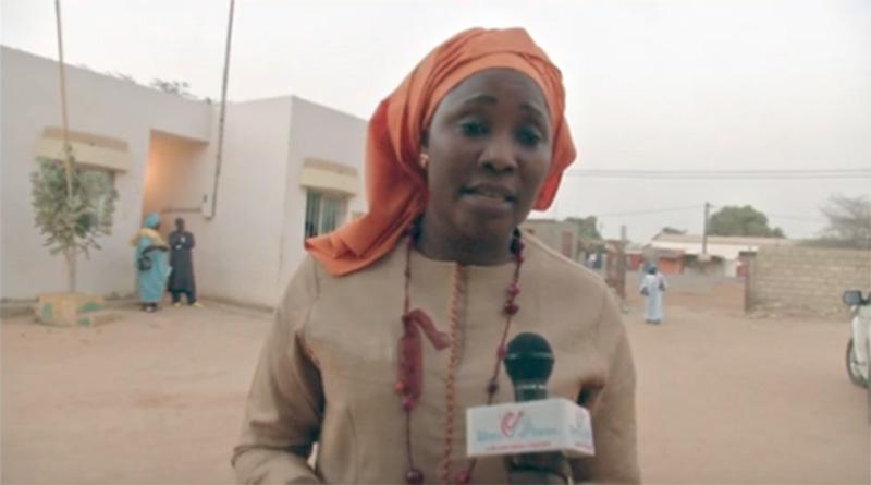 le projet de contribution a la vulgarisation et a la protection des droits des femmes, Madame Astou DIOUF coordonnatrice cloture le séminaire.