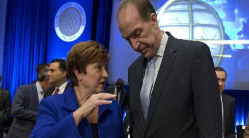 22 milliards de dollars débloqués par la Banque mondiale et le FMI pour lutter contre le coronavirus.
