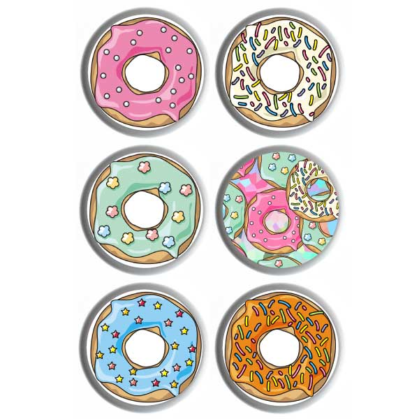 Freestyle Libre 3 Sticker Donuts