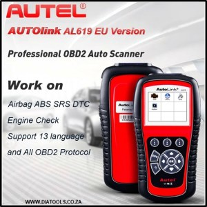 Autel Autolink AL619EU Diatools 1A