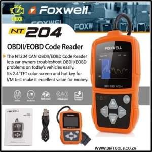 Foxwell NT204 Diatools 1a