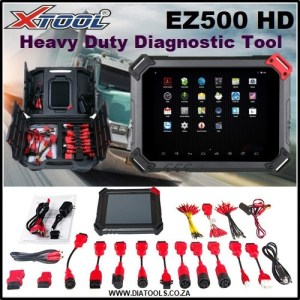 XTOOL EZ500 HD Heavy Duty Diatools 1D
