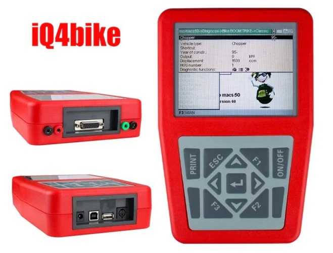 iQ4bike Universal Motorcycles Diagnostic Tool Main Unit