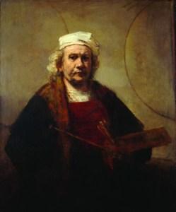 Rembrandt Self-Portrait, image