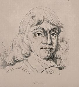 ené Descartes, c. 1794. Portrait