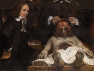 The Anatomy Lesson of Dr. Deyman (1656). Image