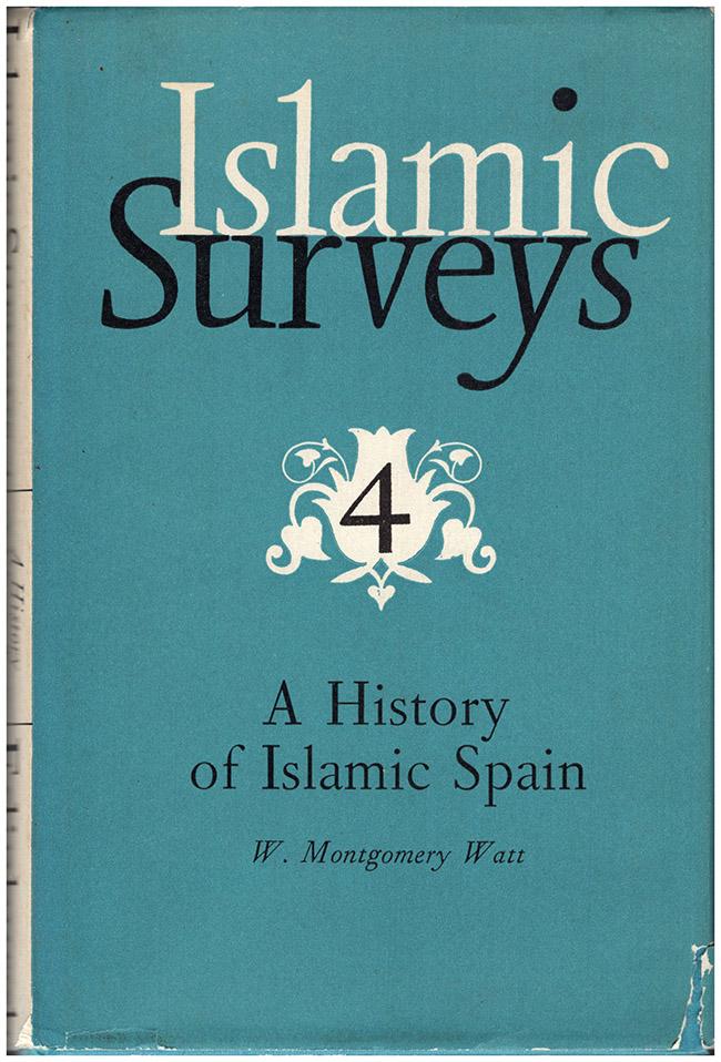 Islamic Surveys 4: A History of Islamic Spain, book cover