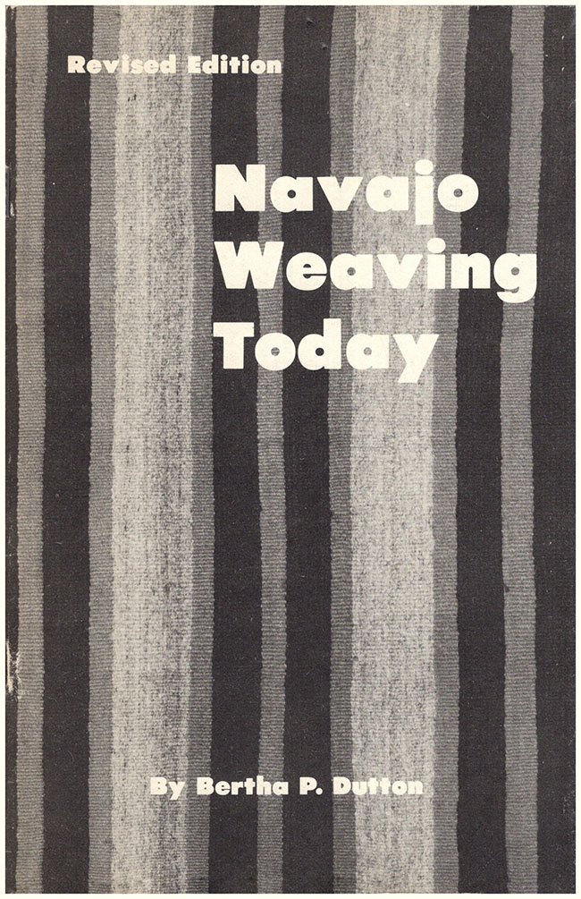 Book Cover: Navajo Weaving Today (Revised Edition) (30486)