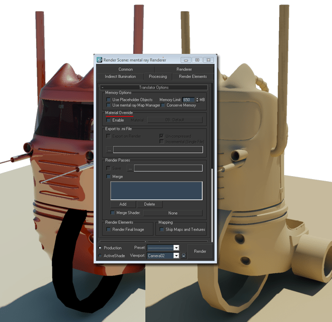 3Ds tip: Material override