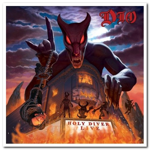 Dio - Holy Diver Live 2CD Deluxe Edition (2006/2021)