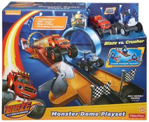 monster dome play-set